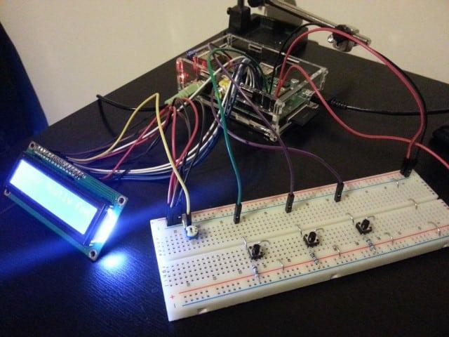 Raspberry Pi internet radio prototype