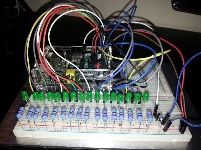 Raspberry Pi scoreboard project