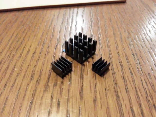 Raspberry Pi Heatsinks