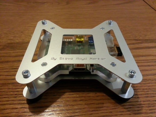 Assembled Picano Raspberry Pi Case