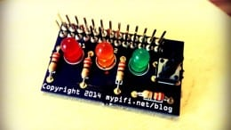 The MyPiFi LED Board