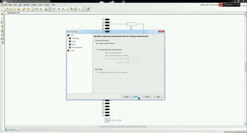 Manually Arrange Components