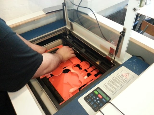 MakersCafe Laser Cutting Machine