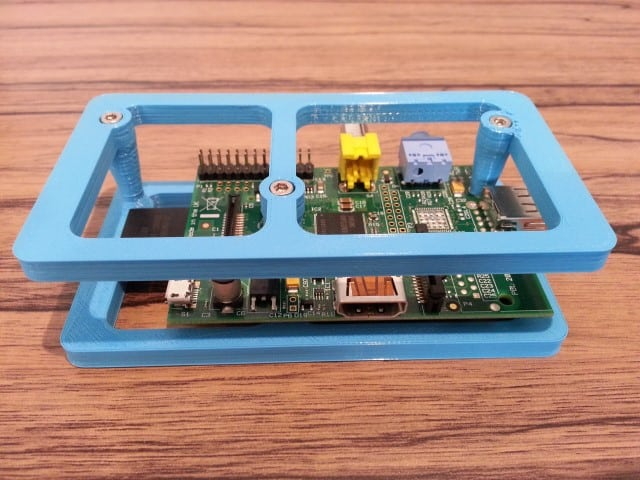 Model A Raspberry Pi 3D printed case