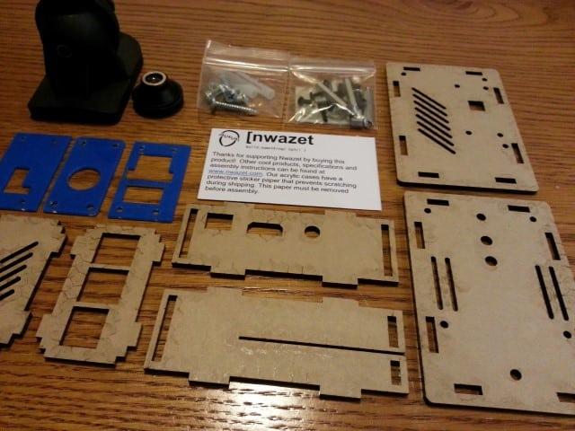 Nwazet parts with film