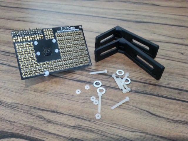 ProtoCam robot parts