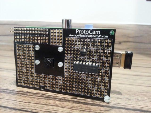 Protocam sensor project