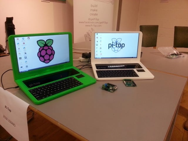 Pi Top laptops