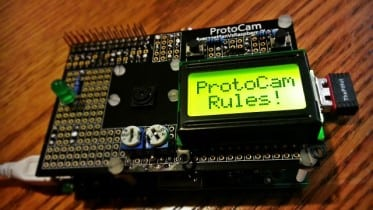 ProtoCam 8x2 Display project