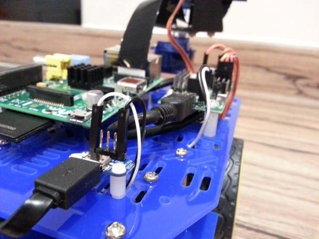 Adafruit micro USB breakout board