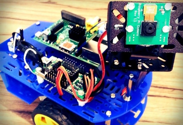 Raspberry Pi Camera Robot