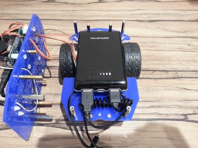 Robot chassis layout changes