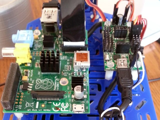 Raspberry Pi Robot Chassis Layout