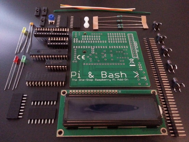 Pi & Bash Kit Contents