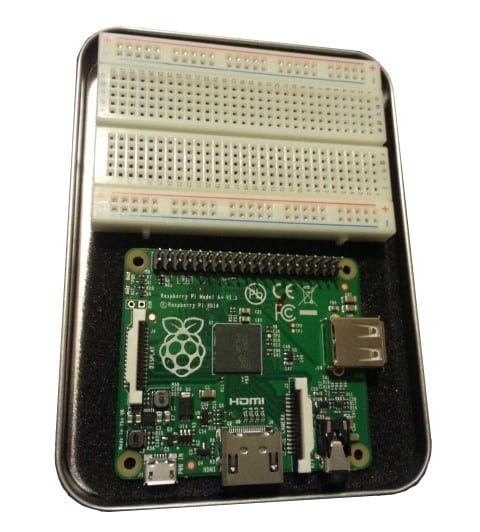Edukit 2 Tin Lid With Breadboard