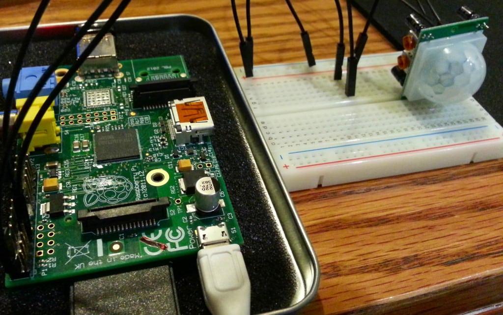 Raspberry Pi PIR Circuit