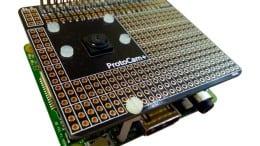 ProtoCam+ on an A+ Raspberry Pi