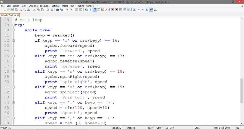 Agobo Python Code Example
