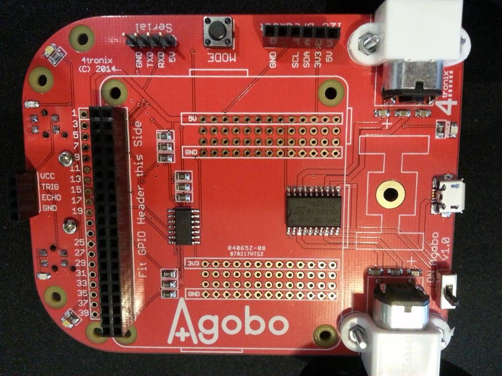 Agobo PCB Side