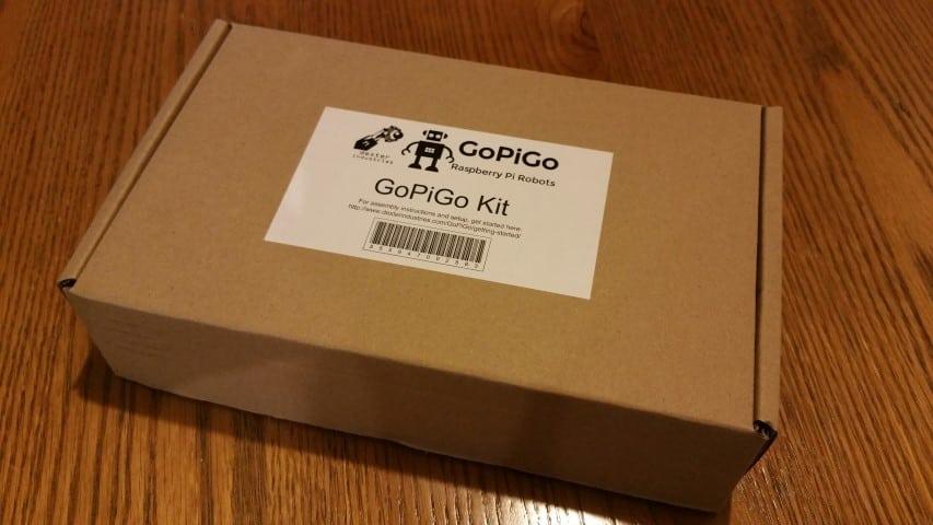 The GoPiGo box