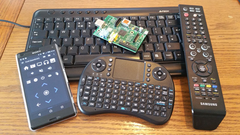 7 Remote Controls For Your Raspberry Pi Media Centre | Average Maker