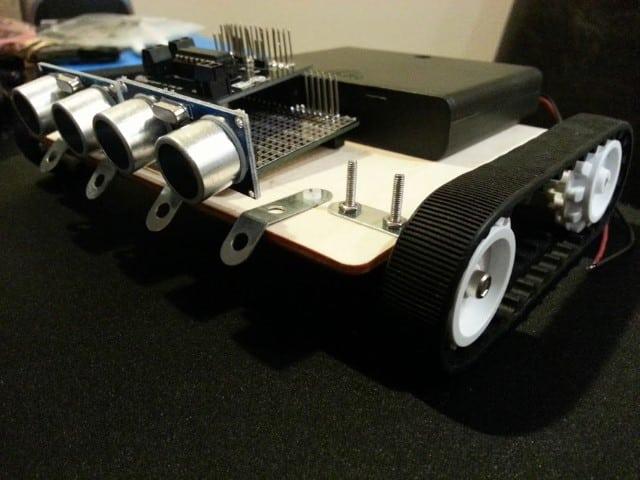 Raspberry Pi SR04 sensors