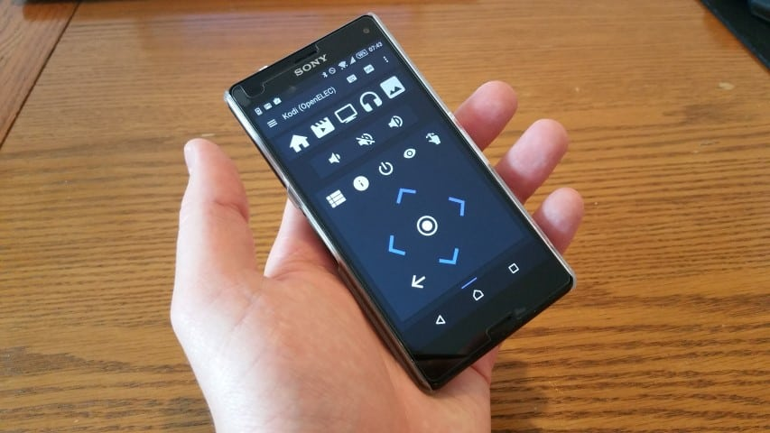 Yatse app for XBMC on the Raspberry Pi