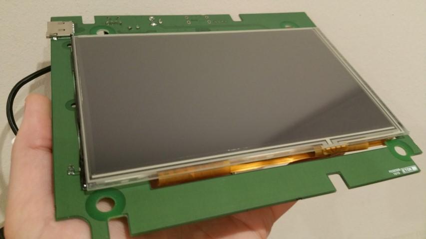 "TinyLCD 7"" Raspberry Pi screen"