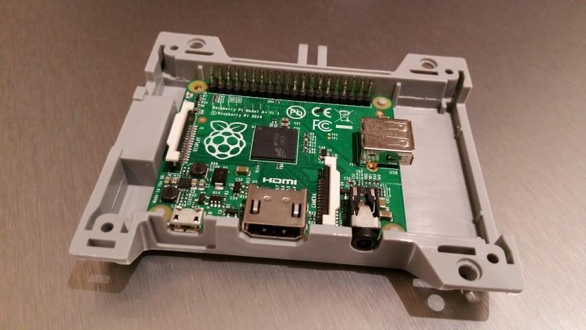 SmartiPi with an A+ Raspberry Pi