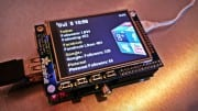 Make A Raspberry Pi PyGame Social Network Monitor