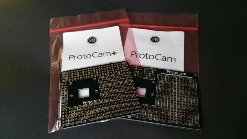 ProtoCam boards