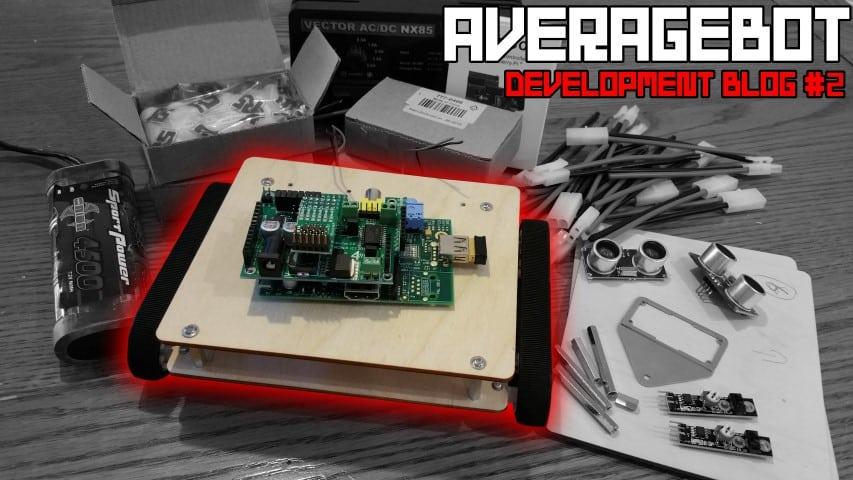 AverageBot Devblog 2 - Power & Controllers   Average Maker