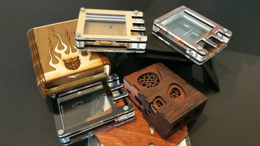 6 New Raspberry Pi Cases From C4Labs   Average Maker