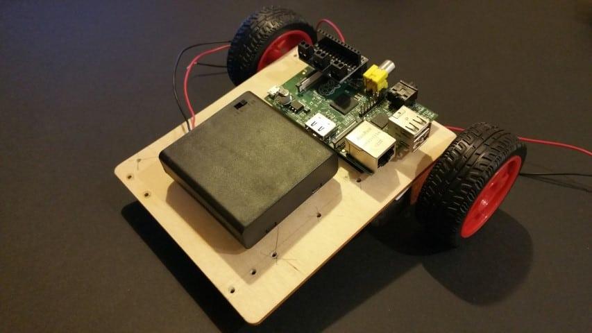 Completed EduKit 3 Robot