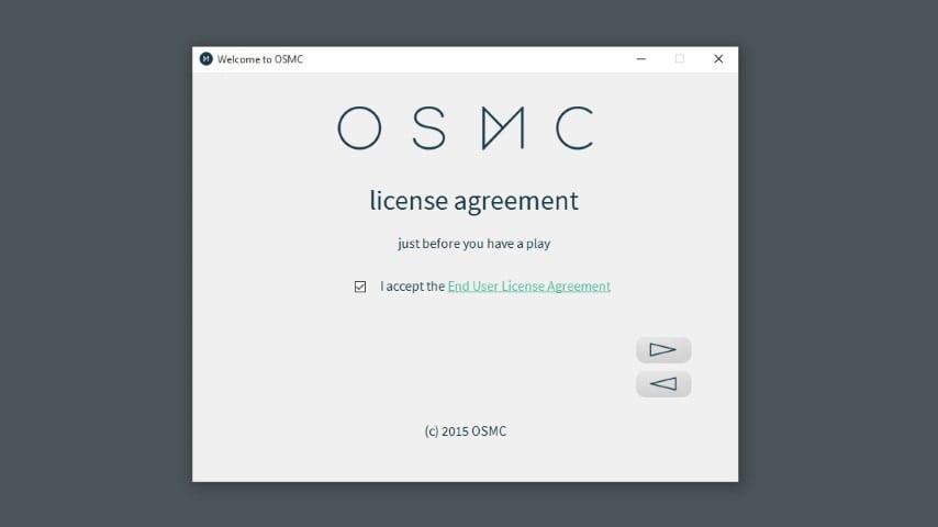 OSMC end user agreement