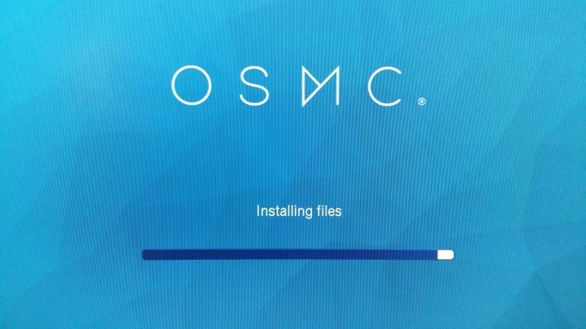 OSMC installation