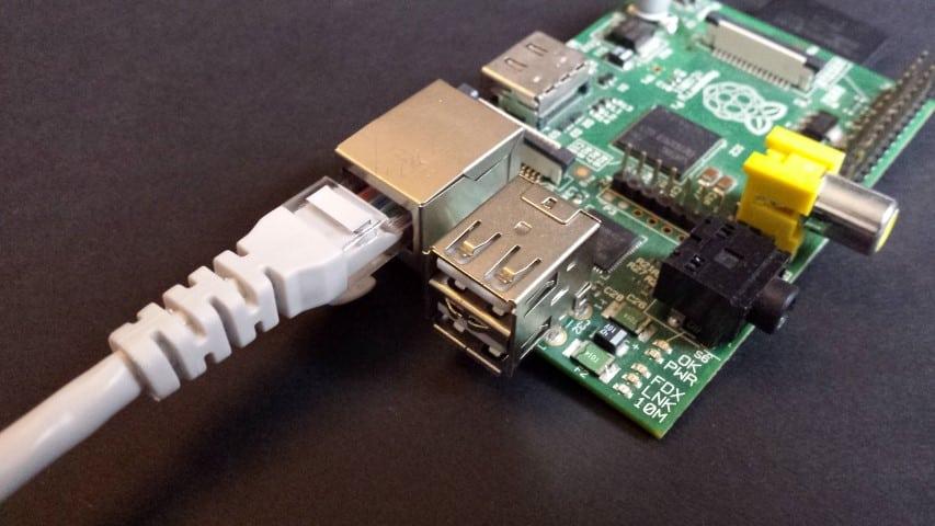 Raspberry Pi Gigabit ethernet