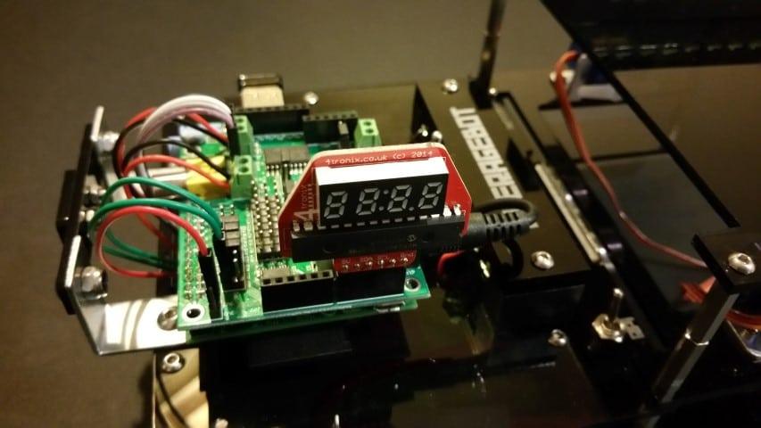 4tronix IP display board