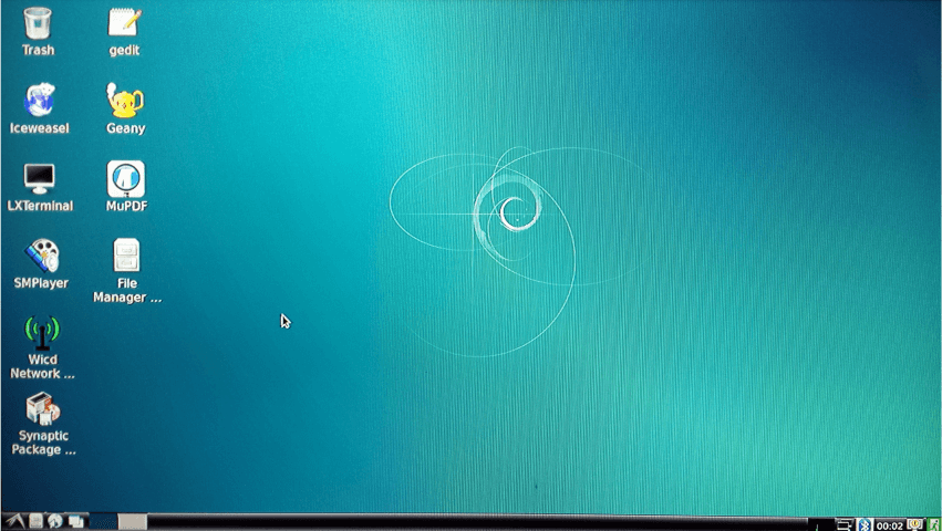 NanoPi 2 Debian Desktop
