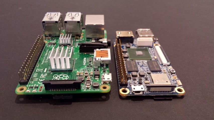 Raspberry Pi and Nano Pi 2