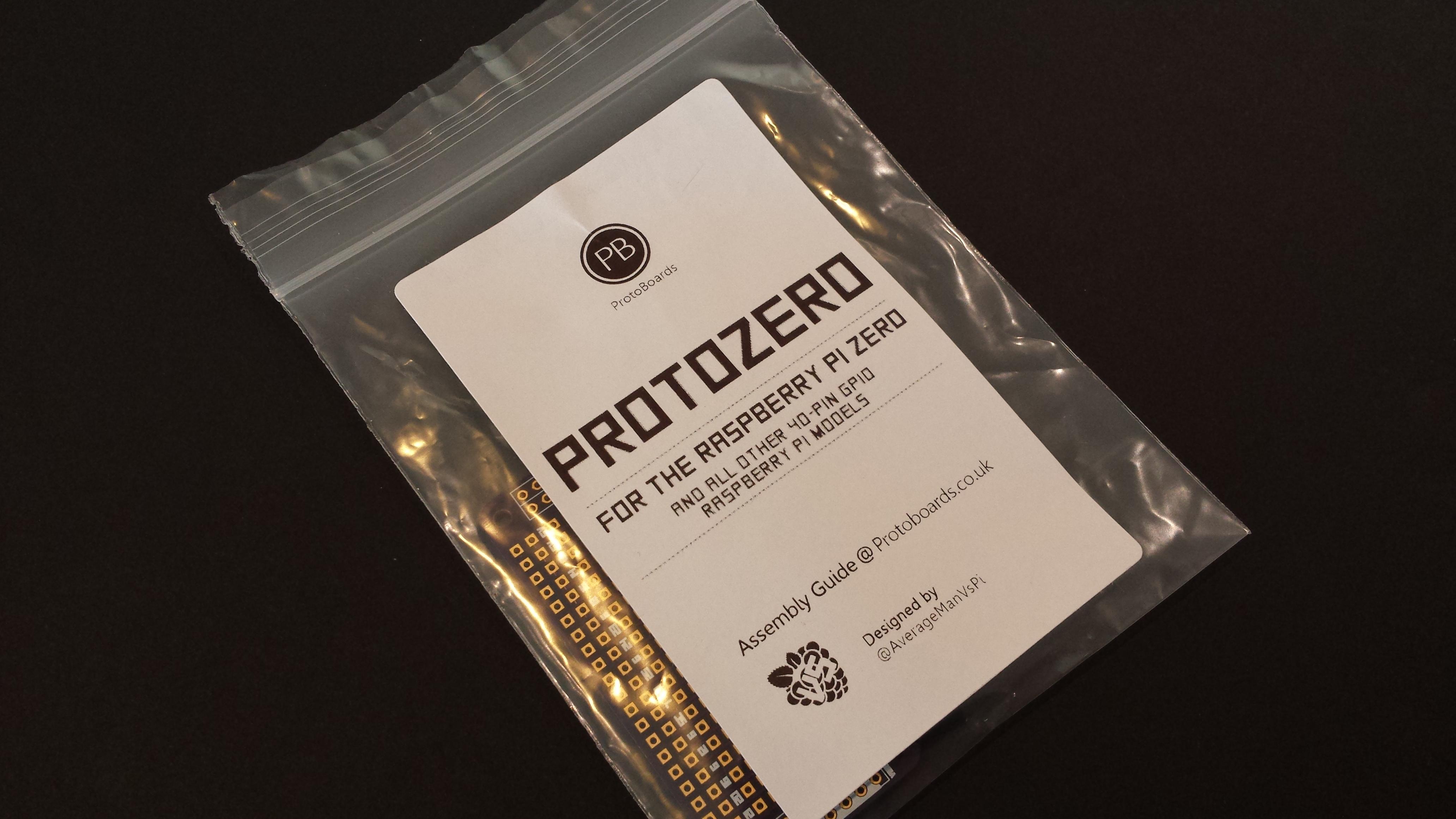 ProtoZero Packaging