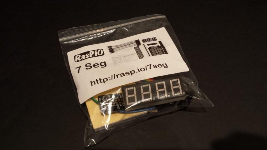 RasPiO 7-Seg Kit