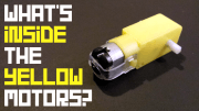 What's inside the yellow motors?