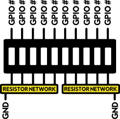 Resistor Network diagram