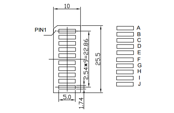 Bar Graph Display datasheet
