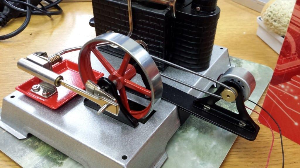 Wilesco engine