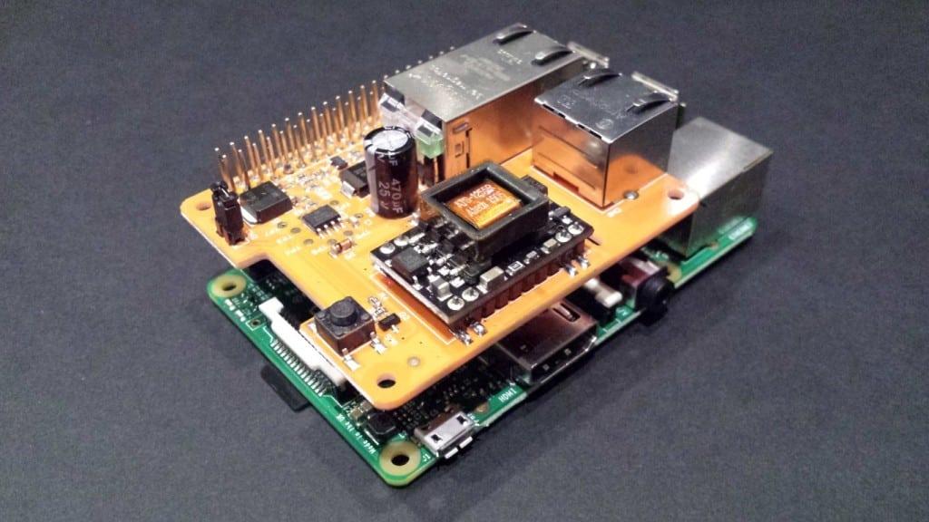 Raspberry Pi PoE Switch HAT