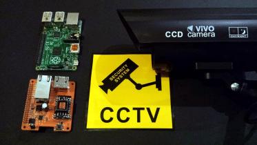 Raspberry Pi PoE CCTV