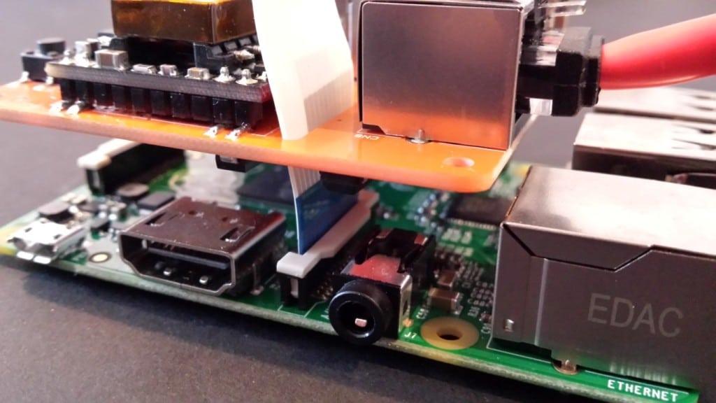 Camera Module HAT slot