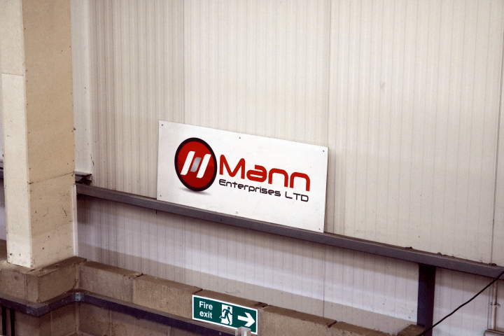 Mann Enterprises sign